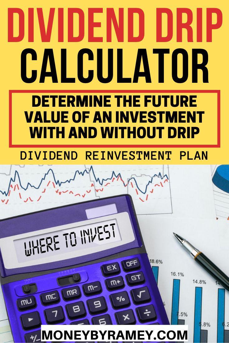 dividend investment calculator