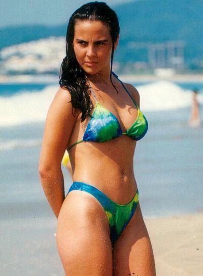 Think, what Iran del castillo bikini