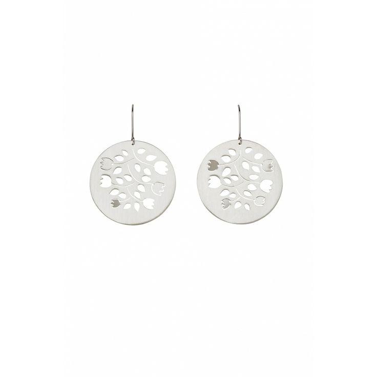 Silver Pop Out Leaves Earrings | Seedlings | Collections | Elk Accessories