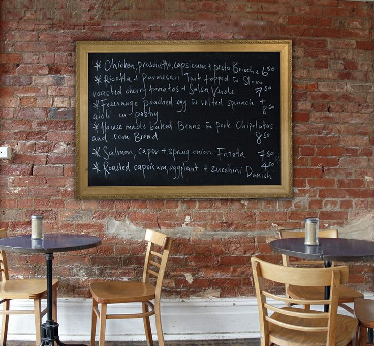 our magnetic chalk boards are used everywhere people want to connect...schools, offices, yoga studios, health clubs, restaurants...