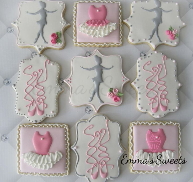 Ballet Cookies by Emma's Sweets | Cookie Connection