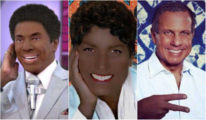 Exposição é acusada de blackface ao retratar famosos como negros