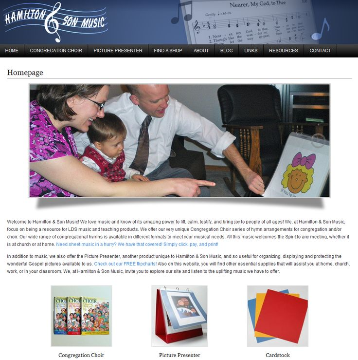 A while back, we built a website/web store for Hamilton and Son Music. #Web Design #Web Development http://www.gosocialonline.com/2012/02/website-hamilton-and-son-music/