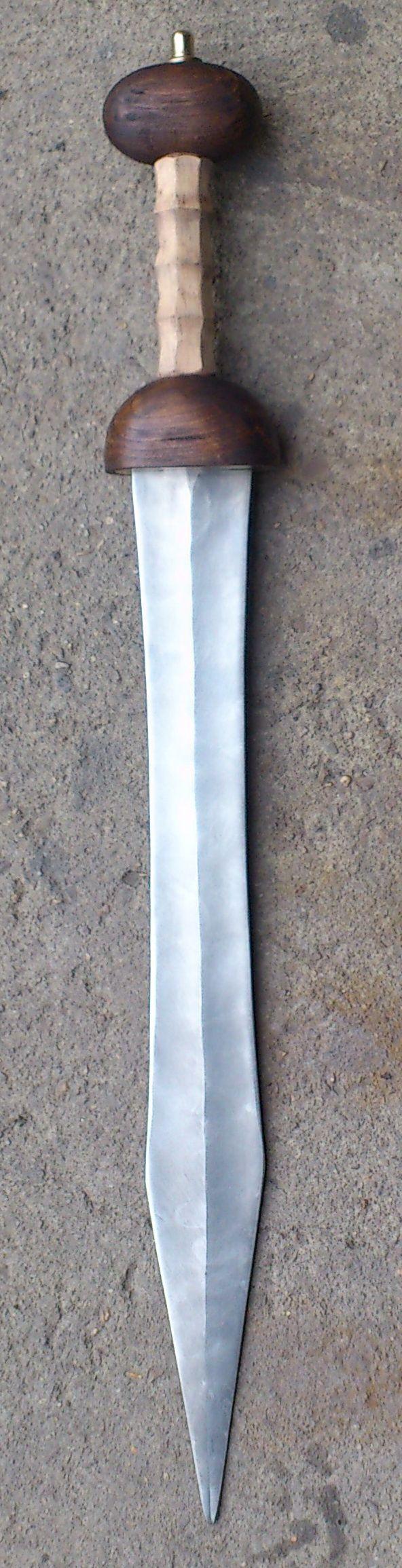 Gladius je latinské označení pro krátký meč. Římané tyto meče používali jako standardní zbraň pro své vojáky, neboť byla ideální pro efektivní boj v těsné formaci, na rozdíl od dlouhých mečů