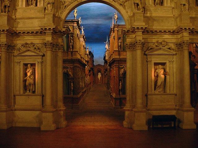 Teatro Olimpico Vicenza by Valter49, via Flickr