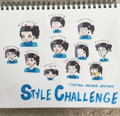 crybaby, style challenge,