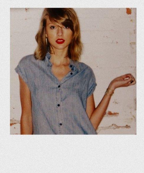 katherine — swiftieronald: 1989 outtakes + polaroids + red...