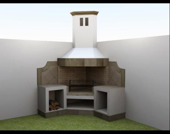 M s de 20 ideas incre bles sobre remodelaci n de chimenea for Asadores contemporaneos jardin