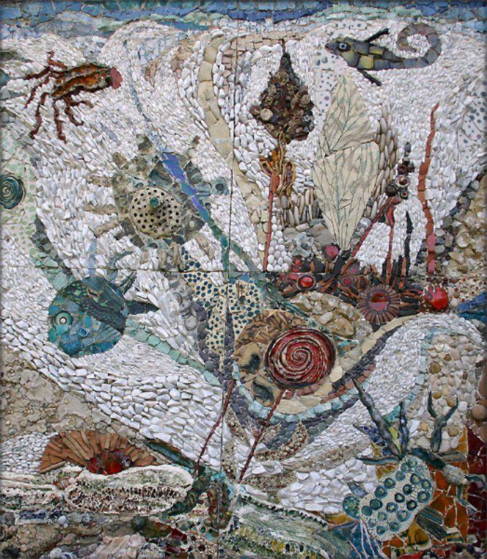 mosaic sea art