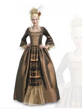 #Déguisement #Marquise #Gothique - Robe et coiffe - #Halloween