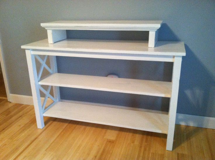 Diy Tv Stand For Bedroom Antiqued