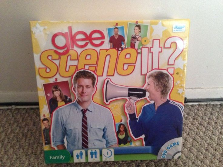 Brand New Glee Scene-It Game #TwentiethCenturyFoxFilm