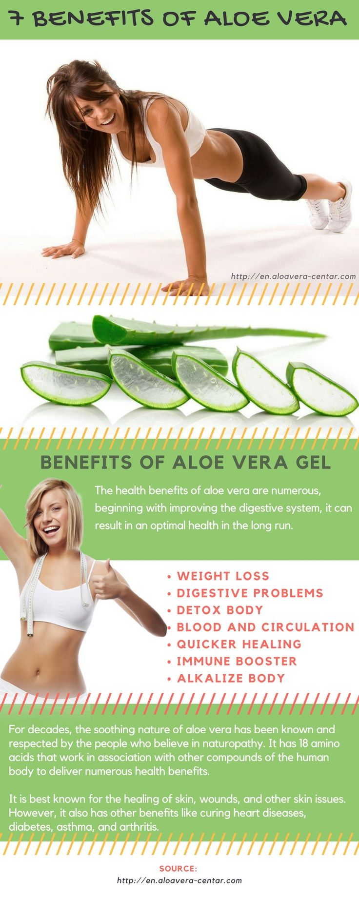 Weight loss tips 7 #tips of Aloe Vera