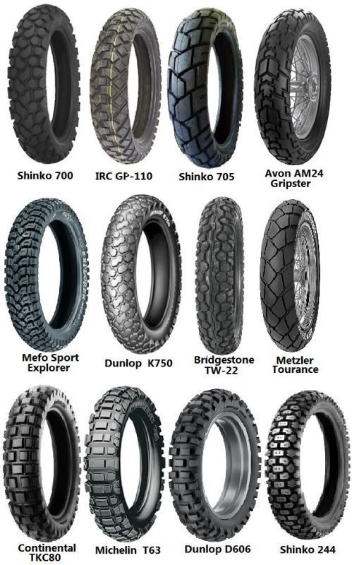 Dual sport tire options