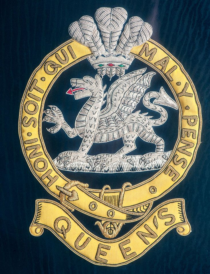 Queen's band banner - military regalia | Army Tigers