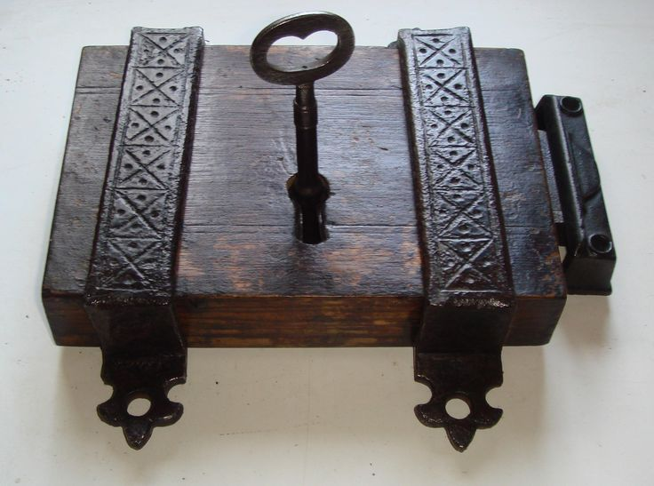 Victorian Gothic Church Or Chapel Oak Cased Door Lock With Decorative Cast  Iron Straps - 90 Best Antique Door Locks Images On Pinterest Irons, 19th