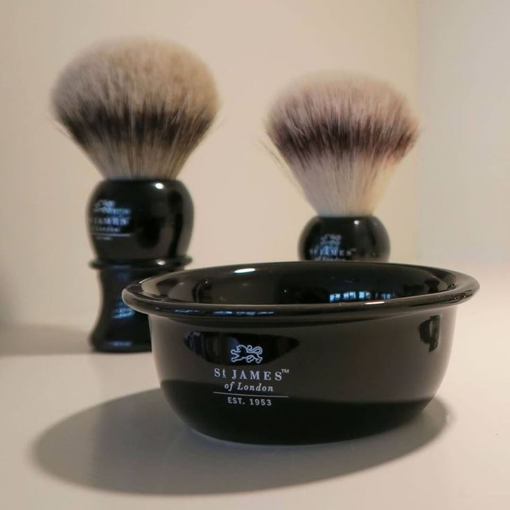 St James of London, high quality shaving products.
