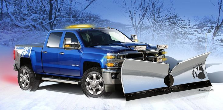 Snow-plowing Chevrolet Silverado 2500 HD Alaskan Edition revealed at 2016 SEMA Show