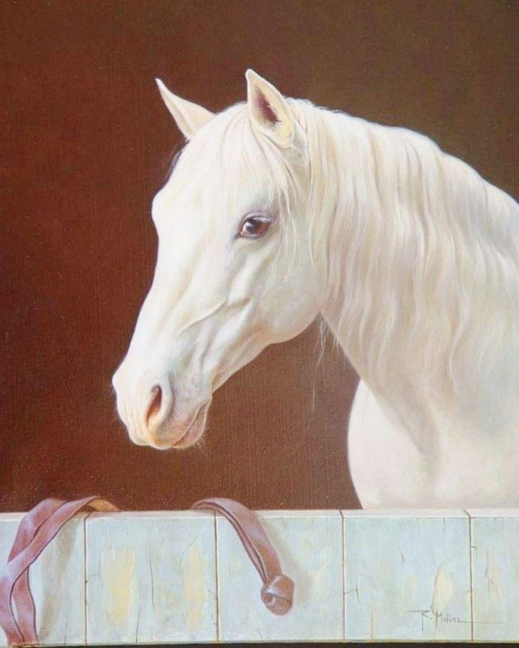 Pintura Moderna al Óleo: Cuadros pintura oleo caballos