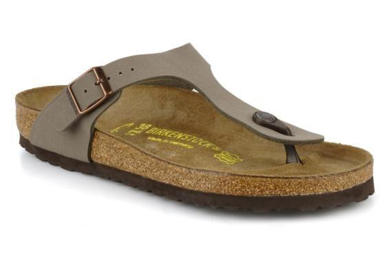 Birkenstock Slippers Gizeh Flor W 3/4'