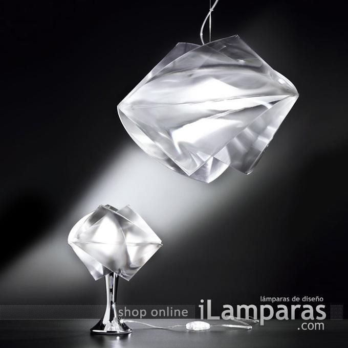 Gemmy abatjour prisma 1xe27 75w oro (GEM04TAV0001LCY) - Slamp / iLamparas.com