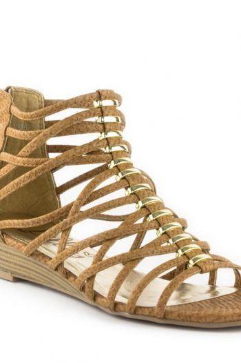 Lilley Womens Tan Reptile Print Gladiator Sandal 220x330 Summer Sandal Ideas