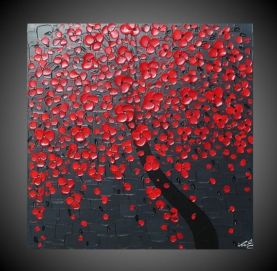 Red Wall Art 36 best metal wall aet images on pinterest | metal walls, poppy