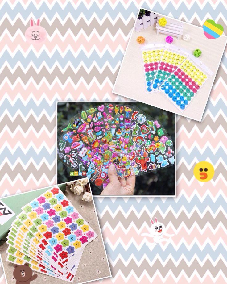 Stickers de premio para niños. Surtidos, puedes llevar los que quieras! 400 c/u 3.600 set de 10 láminas!
