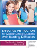 With this practical guide to high-quality instruction, middle school teachers will help struggling readers develop the skills they need to master complex academic content and succeed inside and outside the classroom.  With 20+ step-by-step sample lessons that improve  Fluency  Comprehension  Word recognition  Vocabulary