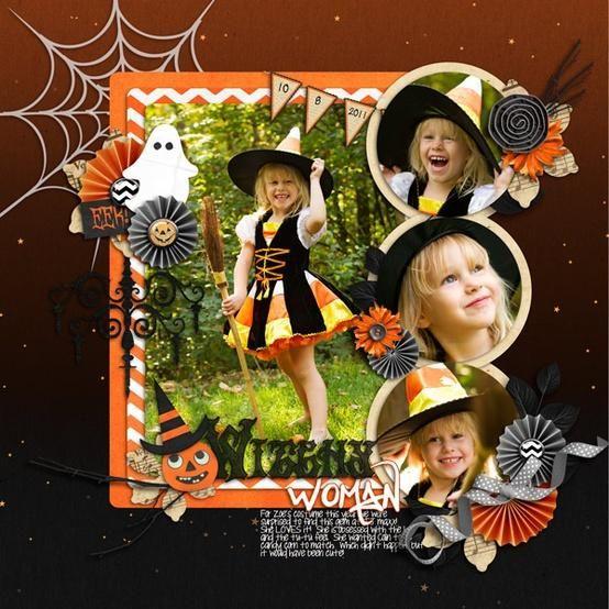 Halloween Scrapbook Ideas | Just Imagine - Daily Dose of Creativity