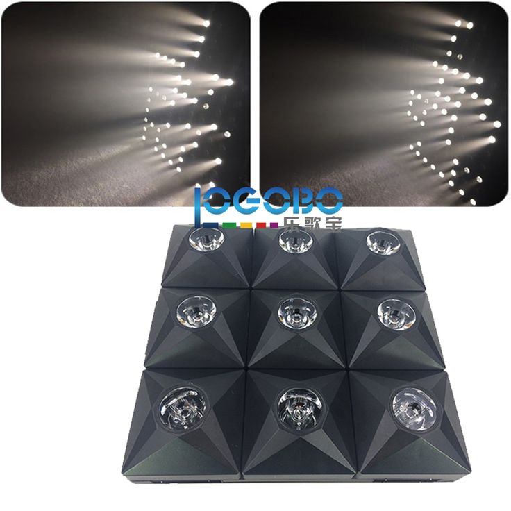 ==> [Free Shipping] Buy Best Wholesale 8x Diamond Stage DJ Matrix Beam LED matrix effect and Audience blinder 3x3 Panel display strobe laser light for sale Online with LOWEST Price | 32815636822