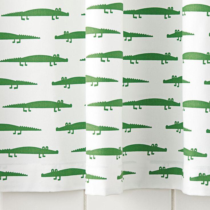 Alligator Shower Curtain   Serena U0026 Lily