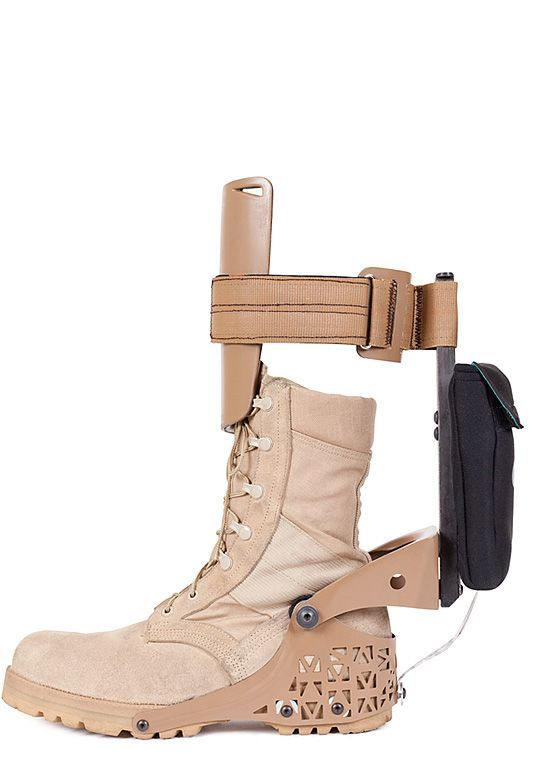 Provides the dismounted soldier a power generation capability that can augment and extend traditional power sources, such as batteries.Has shown negligible metabolic cost associated with harvesting ankle energy at slow walking speeds. Achieves a continuous 3–6 Watts of power output per leg.