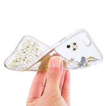 """COMPATIBLE AVEC: L'étui pour Apple iPhone 6 /6S (4.7 pouces) Sunroyal® cover offrant une protection integral à l'arriere de votre téléphone et permettant l'acces à toutes le connectiques ainsi qu'a tous les boutons,100% de s'adapte à votre smart phone. Super … <a href=""""http://www.123mode.fr/produit/sunroyal-coque-iphone-6s-transparent-beau-fairy-fee-bling-diamant-tpu-soft-crystal-clear-etui-housse-premium-ultra-mince-strass-case-cover-..."""