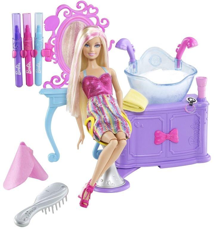 barbie doll hair salon games