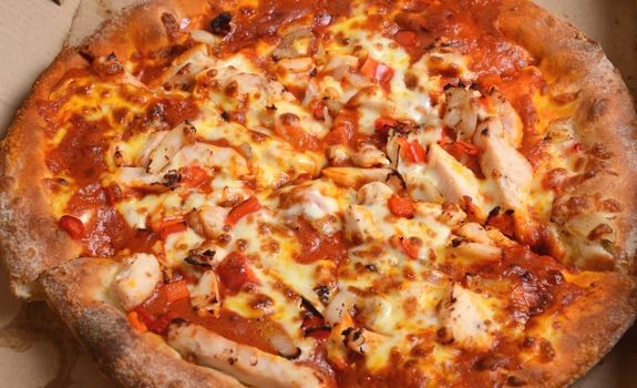Panago Butter Chicken Indian pizza