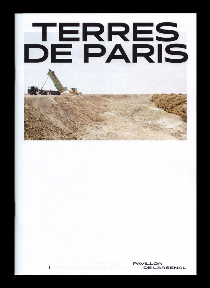 """Terres de Paris"", visual identity (booklet), 2016."