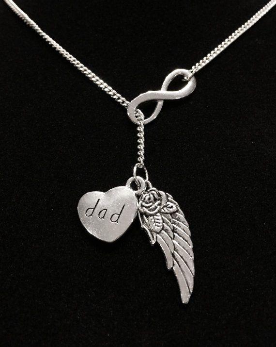 Infinity Guardian Angel Wing Dad In Heaven by HeavenlyCharmed