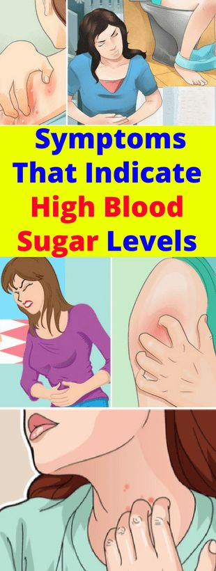 Symptoms That Indicate High Blood Sugar Levels -