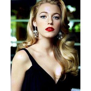 Image Detail For Blake Lively 1920s Loose Wavy Hairstyle