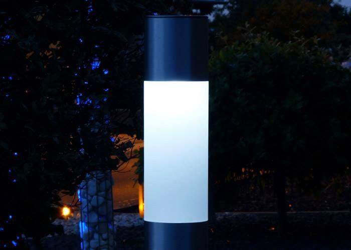#Solar #LED Standleuchte #Klera. 1000mm hoch und sehr edel aus #Aluminium.  http://www.bige.de/Solar-LED-Beleuchtung/Heitronic-Solar-LED-Leuchte-Standleuchte-Klera:--939.html