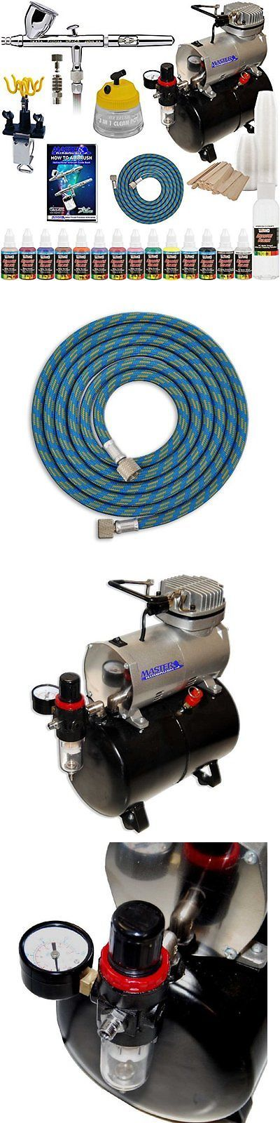 Airbrush Paints 183092: Iwata Hp-Cs Eclipse Airbrush Kit With Airbrush Depot Tank Compressor And 6 Foot -> BUY IT NOW ONLY: $350.77 on eBay!