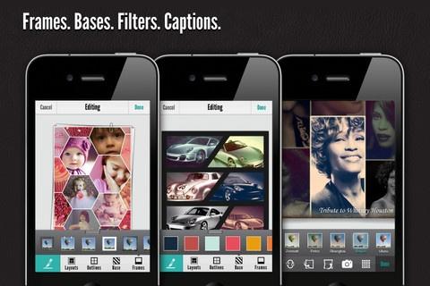 Fuzel photo collage app for iOS