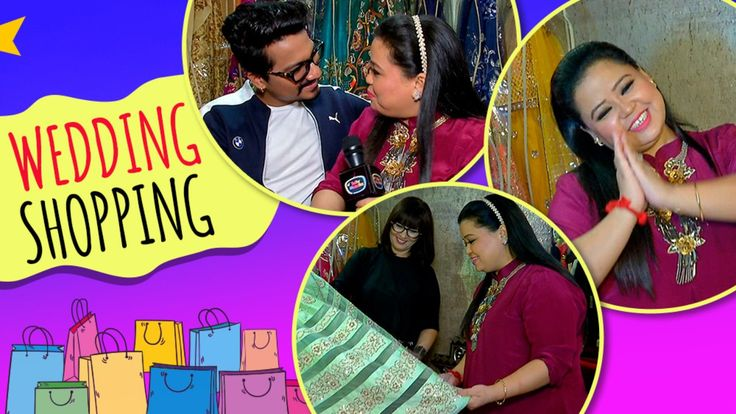 Bharti Singh And Harsh Limbachiyaa's Wedding Shopping | Neeta Lulla | TellyMasala | lodynt.com |لودي نت فيديو شير