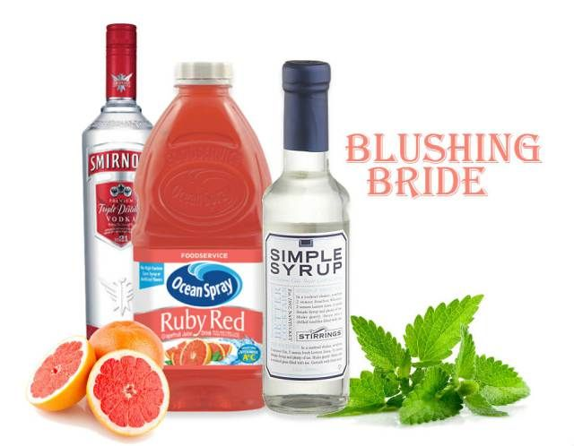 Blushing Bride Drink Recipe Perfect Setting Catering