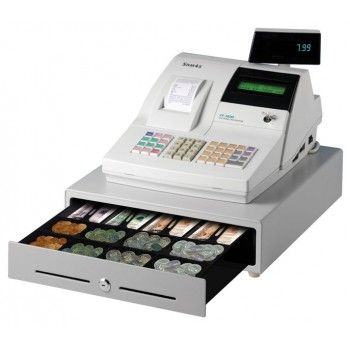 SAM4S ER380 Cash Register with Single Station Thermal Printer and Single Line Numeric Display