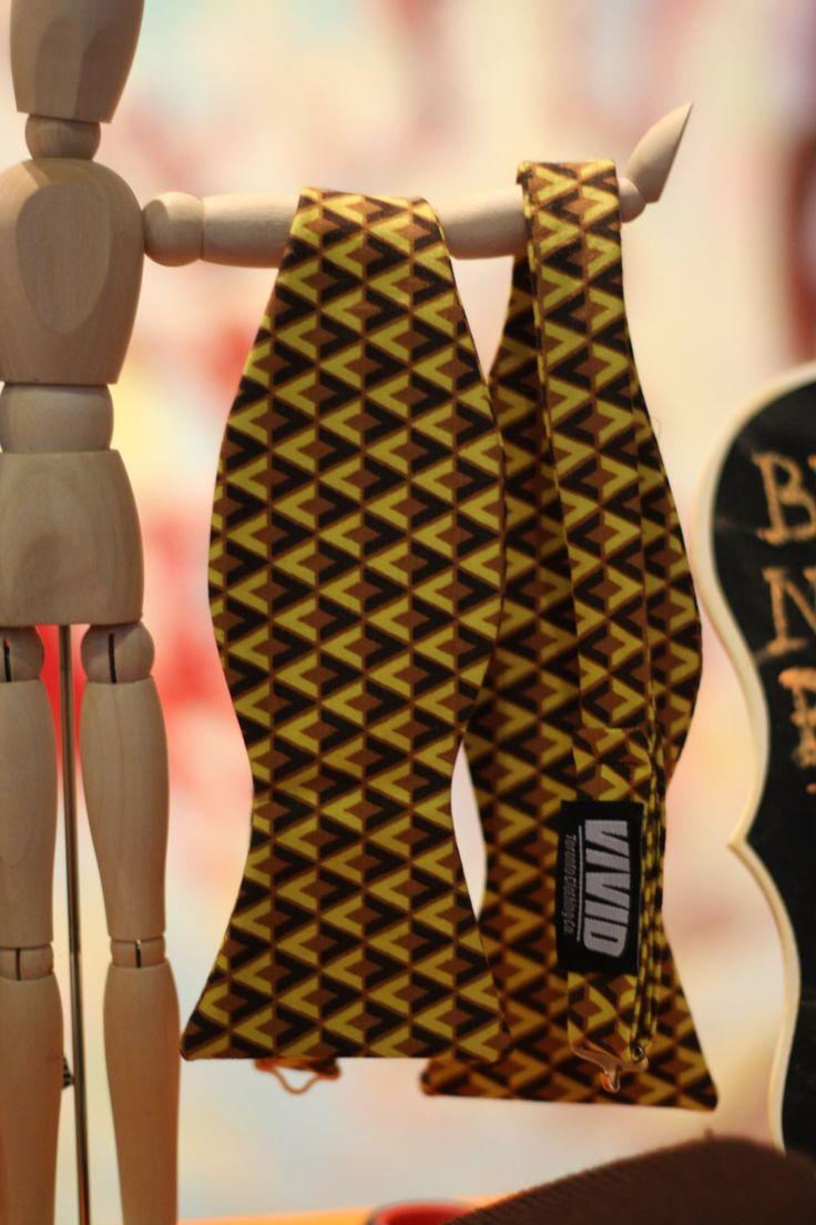Mustard Bow Tie | $24.00