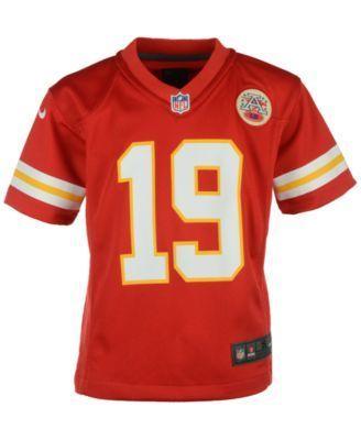 Nike Kids' Jeremy Maclin Kansas City Chiefs Game Jersey - Red 5/6