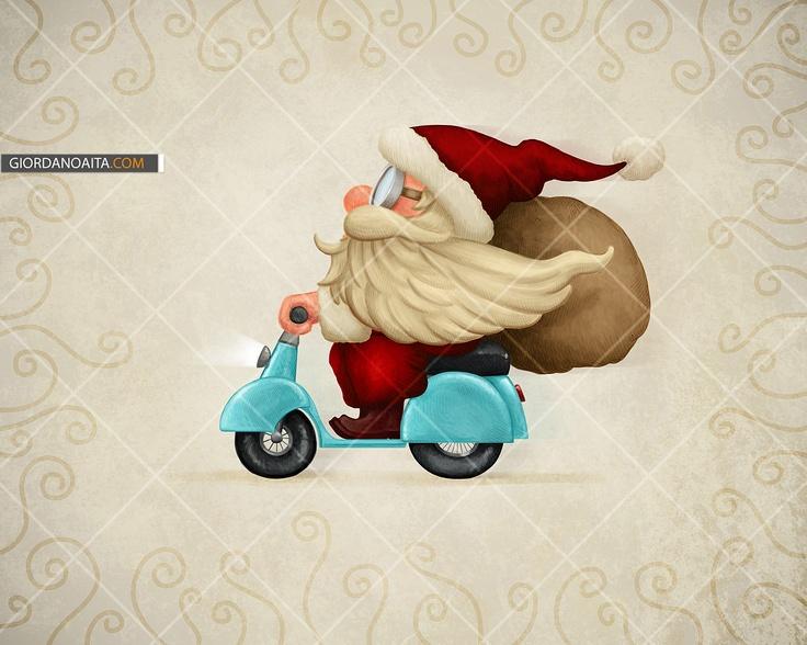 Santa delivery - © Giordano Aita - All right reserved     http://it.fotolia.com/p/120313/partner/120313