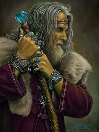 "Diancecht was the Irish god of Healing and Medicine in Celtic culture during the Bronze age in Ireland. Diancecht was the son of Dagda, ""the good god of the Irish Celts"", and was the physician to the Tuatha De Danaan, the ruling clan of gods. His son, Miach, was also a healer but preferred to use incantations and herbs when healing which was at odds with his father's surgical methods."